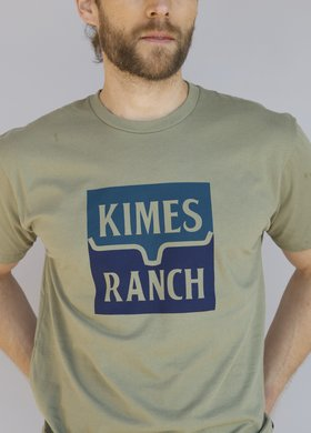 Kimes Ranch Explicit Warning Lite Olive Tee