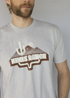 Kimes Ranch Lite Heather Desert Lands Tee