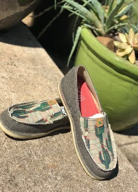 Twisted X Twisted X Ladies Cactus Eco Loafer