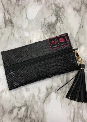 Makeup Junkie Bags MJ Black Cobra Mini