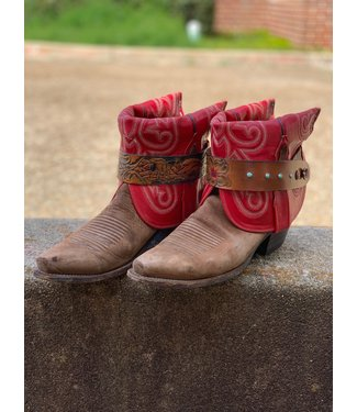 Triple M Boots The Red Wrangler Size 8