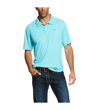 Ariat Intl Ariat Tek Polo Cool Aqua