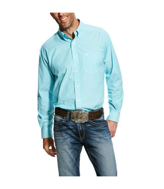 Ariat Intl The Griffith LS Stretch Turquoise