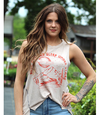 wanderlux Real Gypsy Muscle Tee