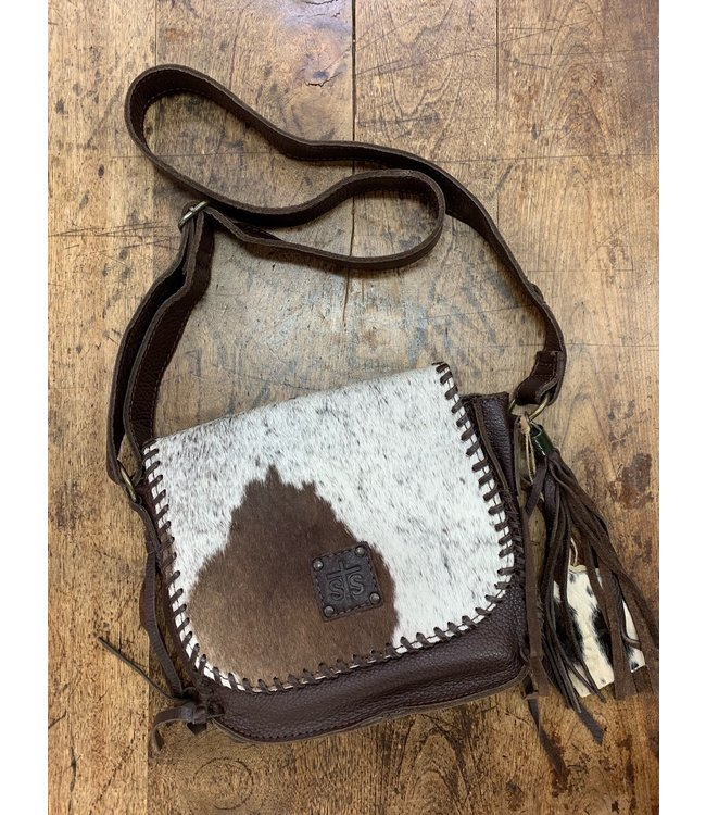Cowhide Selahs Saddle bag