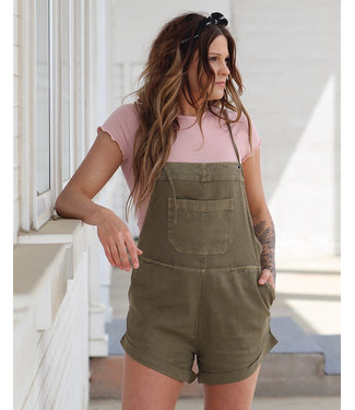 billabong Wild Pursuit Sage Overall