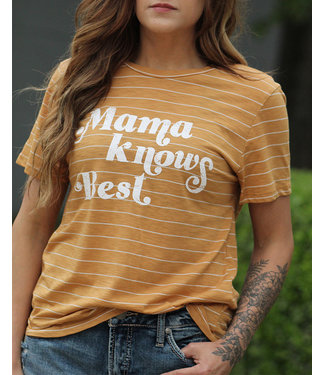Diamond T Outfitters Mama Knows Best Tee