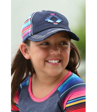CRUEL GIRL Serape Aztec Girls Cap