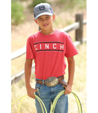 Cinch Boys Cinch Red Tee