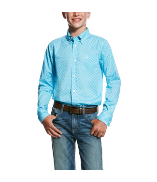 Ariat Intl Boys Molson LS Shirt