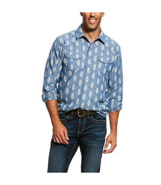 Ariat Intl Jared Retro Shirt Granite
