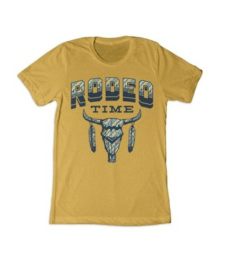 Dale Brisby Mustard Tribal Rodeo Tee