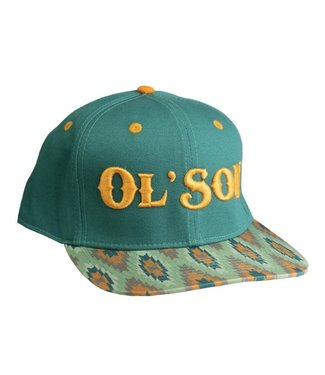 Diamond T Outfitters Ol Son Green Aztec Print Cap