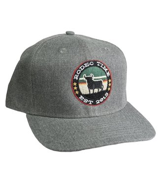 Dale Brisby Dark Grey Circle Rodeo Time Cap