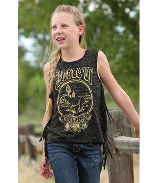 CRUEL GIRL Buttercup Fringe Tank