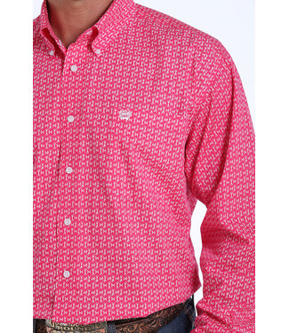 Cinch Classic Pink Brush Print