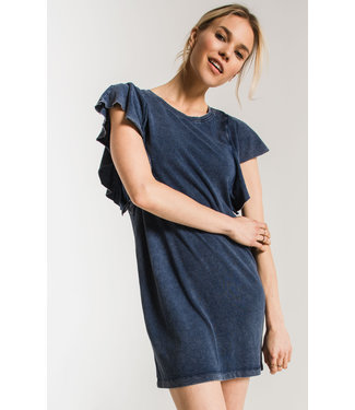 Z Supply The Jersey Denim Dress