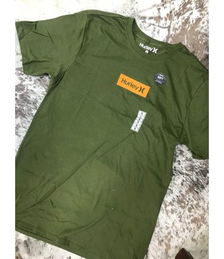 Hurley Small Box SS Tee Legion Green