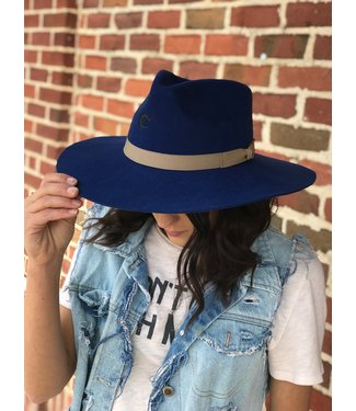 Charlie 1 Horse The Highway Hat in Blue