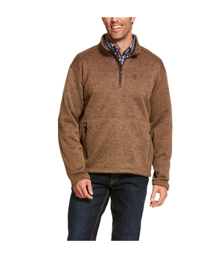 Ariat Intl Caldwell 1/4 Zip Sweater Fossil