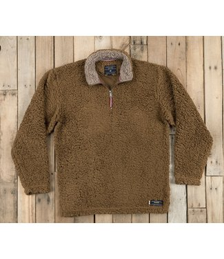 Southern Marsh Appalachian Pile Pullover Brown