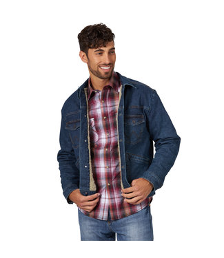 Wrangler Wrangler Retro Sherpa Denim Jacket