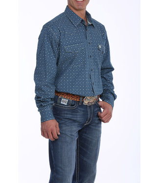 Cinch Cinch Navy Double Pocket Western