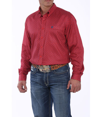 Cinch Cinch Red Print Square