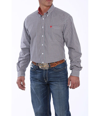 Cinch Cinch Plaid White