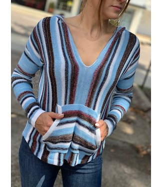 Panhandle Slim Blanket Stripe Hoodie