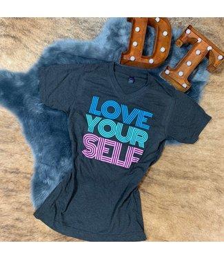 D&E Tees Love Yourself Tee