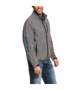 Ariat Intl Logo 2.0 Softshell Jacket Charcoal