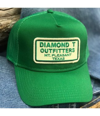 Diamond T Outfitters Big Green DTO Cap