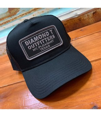 Diamond T Outfitters Black on Black 2.0 Cap