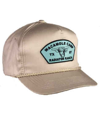 Dale Brisby Wacamole Camp Khaki Cap