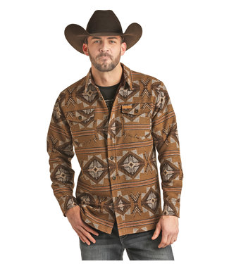 Panhandle Slim Aztec Wool Shirt Jack