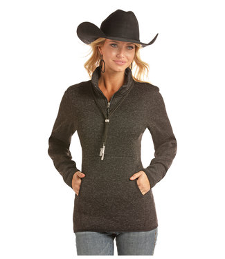 Panhandle Slim 51-2658 LADIES LS 1/4 ZIP