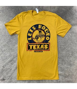 Country Deep Rodeo Texas Tee