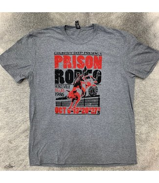 Country Deep Prison Rodeo Tee