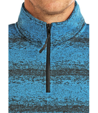 Panhandle Slim Mens 1/4 Zip Ombre Pullover