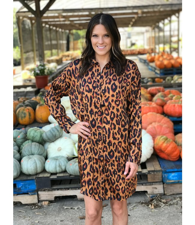 Sadie & Sage Luxe Leopard Tunic