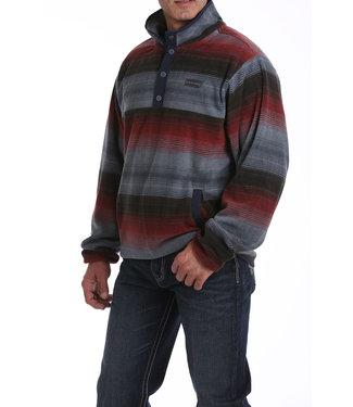 Cinch Printed Fleece Pullover MWK1514001