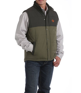 Cinch Color Blocked Puffer Vest Big + Tall MWV151602X