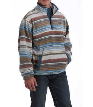 Cinch Printed Fleece Pullover MWK1514002
