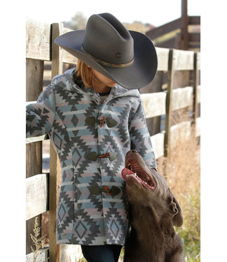 Cinch Girls Tweed Coat CWJ8260001