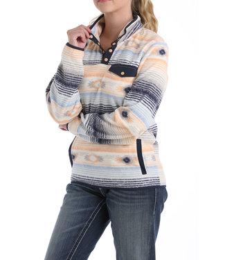 Cinch Printed Fleece Pullover MAK9821001