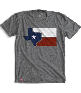 Tubleweed TexStyles Flag Texas Tee