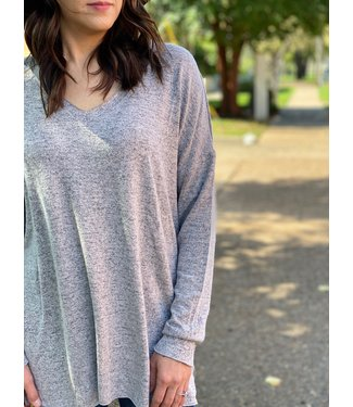 Z Supply The Marled Knit VNK Tunic