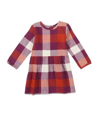 Wrangler Little Girls Plaid Dress