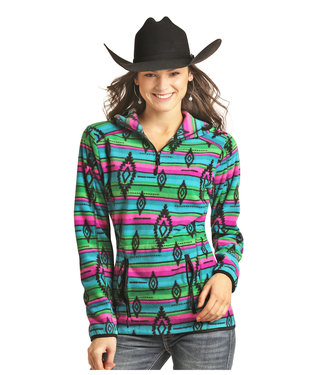 Panhandle Slim 51-2733 JUNIORS 1/4 ZIP PULLOVER